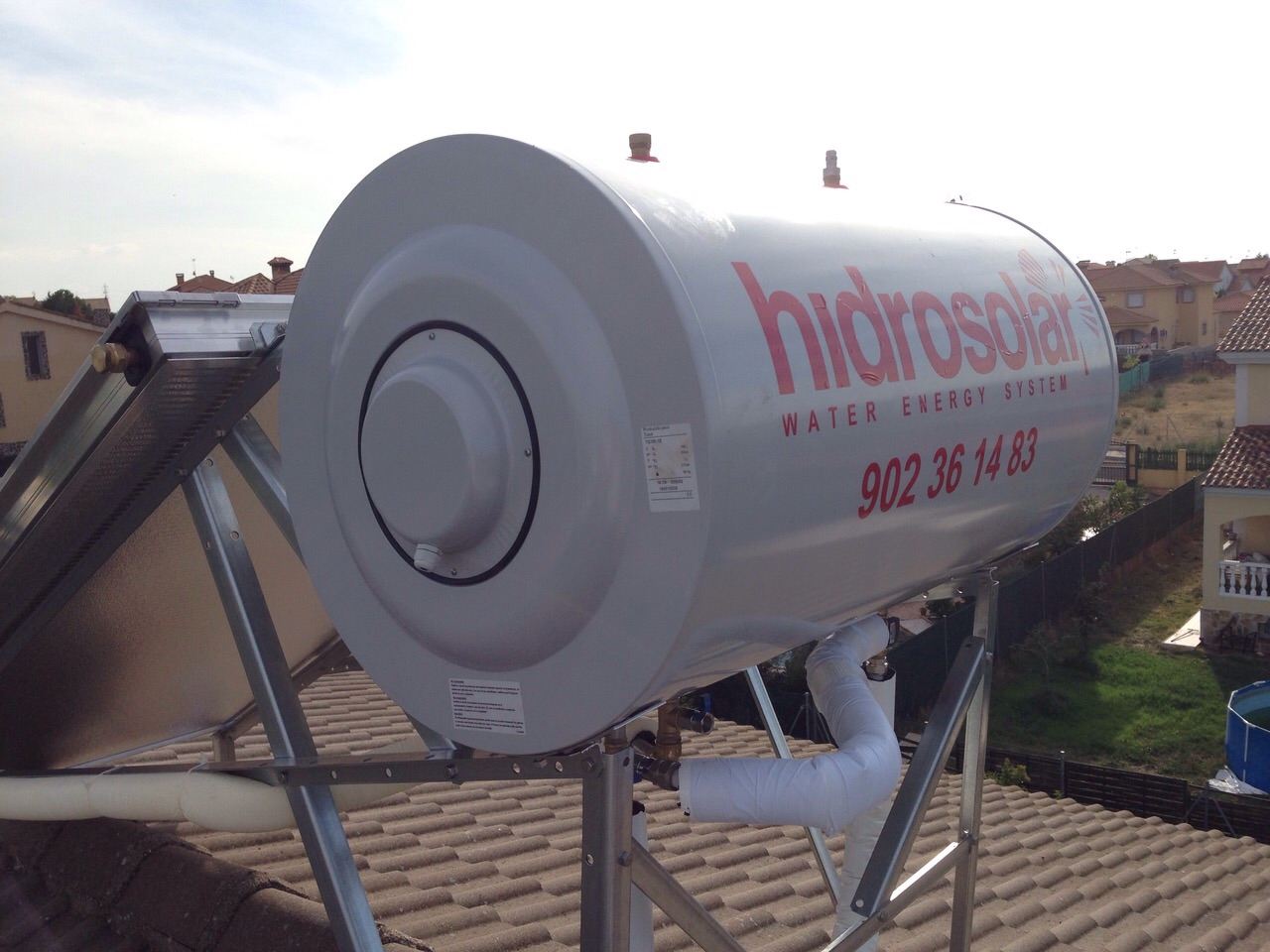 hidrosolar energia solar