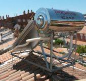 Placa acumuladora solar